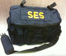 SES Blue Vehicle Duty Bag