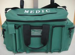 Medic Green Vehicle Duty Bag