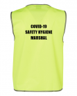 COVID-19 Hygiene Safety Marshal Vest - Indoor