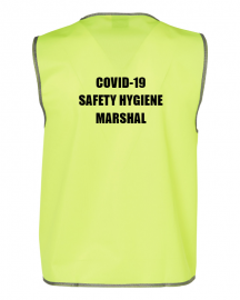 COVID-19 Hygiene Safety Marshal Vest - Indoor