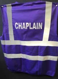 Safety Vest - CHAPLAIN