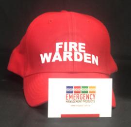 Warden Hat - Fire Warden