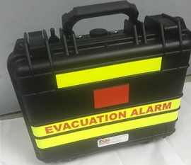 EMP Alert - Evacuator Portable Evacuation Alarm