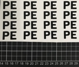 PE Helmet Stickers