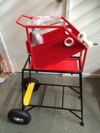 Ezy Roll Fire Hose Rolling STAND