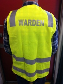 Safety Vest - WARDEN