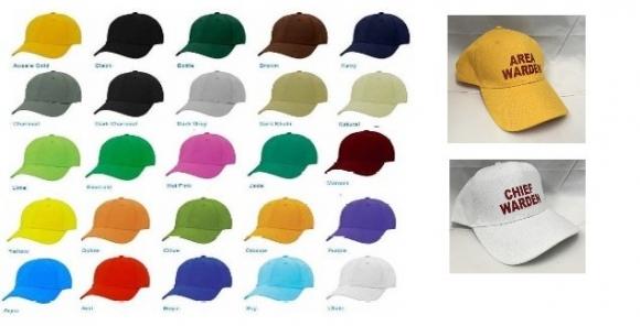 Warden Hats / Caps