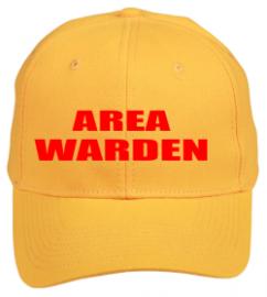 Warden Yellow - Area, Floor, Zone Hat