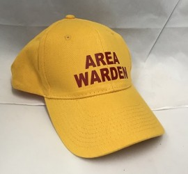 Area Warden Peak Cap - Yellow