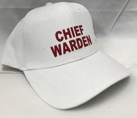 Warden Peak Cap - CHIEF WARDEN WHITE