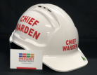 Warden Helmet - CHIEF WARDEN