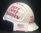 Warden Helmet - DEPT CHIEF WARDEN