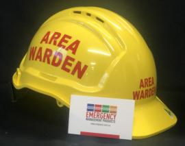 Warden Helmet - AREA WARDEN