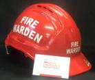 Warden Helmet - FIRE WARDEN