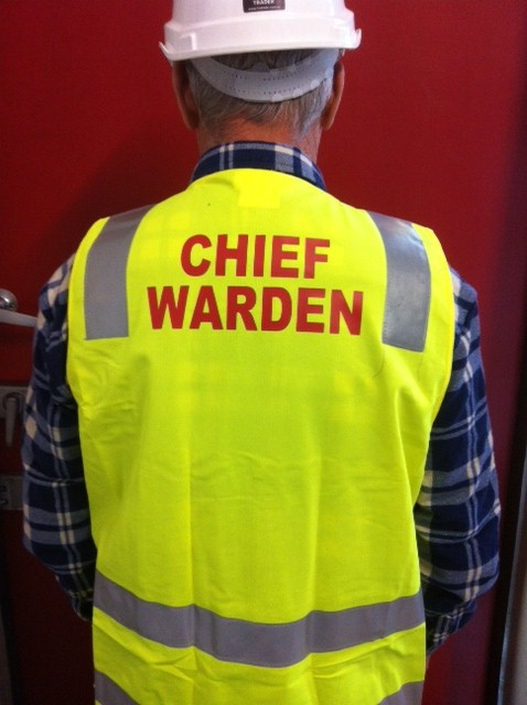 Safety Vest Chief Warden Emergency Management Products